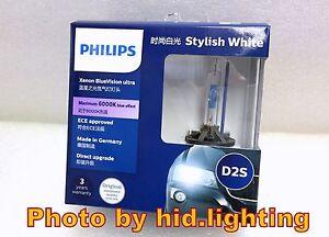 us philips hid xenon blue vision ultra car headlight bulb. Black Bedroom Furniture Sets. Home Design Ideas