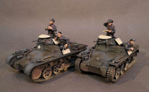 Action- & Spielfiguren John Jenkins WW2 Deutsch GA-10E Panzerkampfwagen 1 Ausführung A Tank