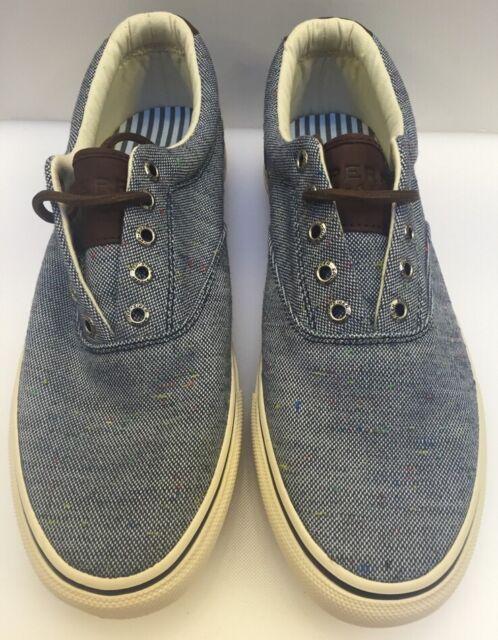 9de9a1a8f71b Sperry Top-Sider Striper CVO Fleck Navy Shoes Men s 9.5 M US NIB New  STS12148