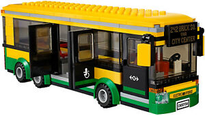 many styles cute look for Lego City Transporte único Decker Bus entrenador ciudad ...