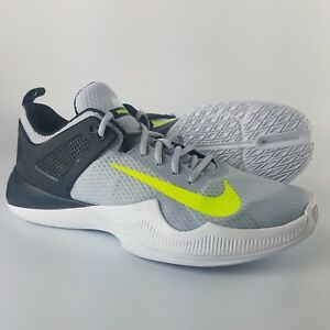 c23886658220 Nike Zoom HyperAce Volleyball Shoes Women s Size 12 Wolf Grey Volt ...