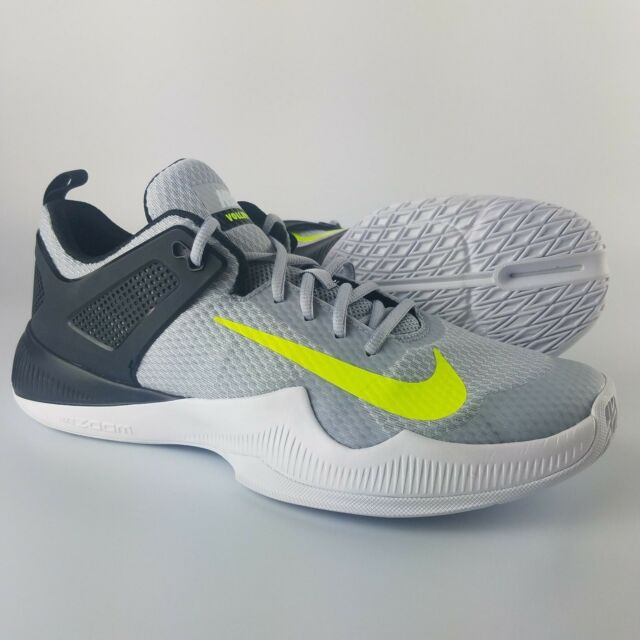 Nike Women's Air Zoom Hyperace Volleyball Shoe Wolf GreyVoltBlack