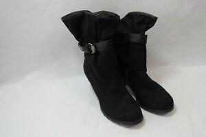 Cloudwalkers Boots Black High Heels