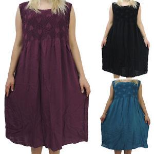 Tolles Damen Kleid Größe 44 46 48 50 52 Kleider Übergröße einfarbig Spitze UNI  eBay