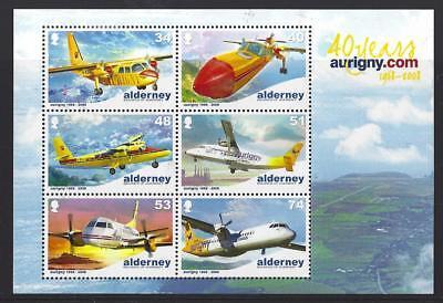 Alderney 2008 25th Anniversary Of Aurigny Luft Services Nicht Gefaßt Postfrisch, Europa Briefmarken