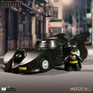 Batman-1989-Batman-amp-Batmobile-2-034-Mez-Itz-Figure-Set-NEW-Mezco-Toyz