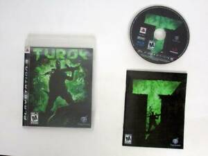 Turok-game-for-Sony-PlayStation-3-Complete