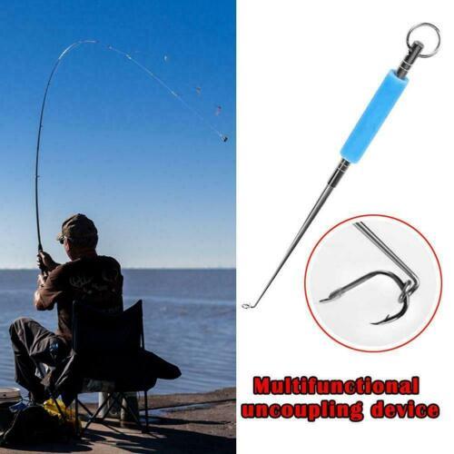 Fishing Hook Disgorgers Detacher Hook Remover Tackle Gear Pen V7K1