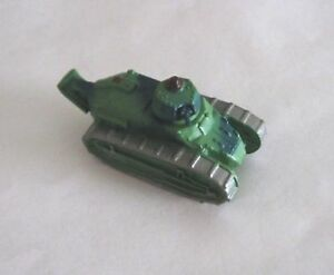 Micro Machines Renault FT-17 French World War I Tank First World War Early Tank
