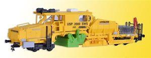 Kibri-16060-Schotterverteil-u-Profiliermaschine-USP2000SWS-Plasser-amp-Theurer
