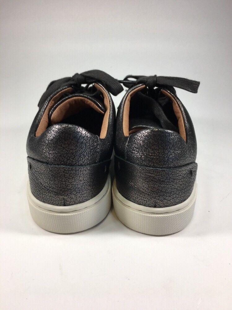 Frye Brand NEW Pewter Metallic Metallic Pewter Lace Up Sneakers Schuhes Damenschuhe Größe 6.5 M f744f1