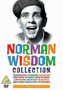 Norman-Wisdom-Collection-12-Film-DVD-Nuovo-DVD-3711529483