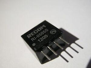Recom Power RO-0505S 5V//5V DC//DC Wandler 1W 200mA *1 Stück*  *Neu*