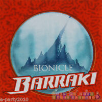 Lego Bionicle Barraki Lunch Napkins (16) Birthday Party Supplies Dinner Red