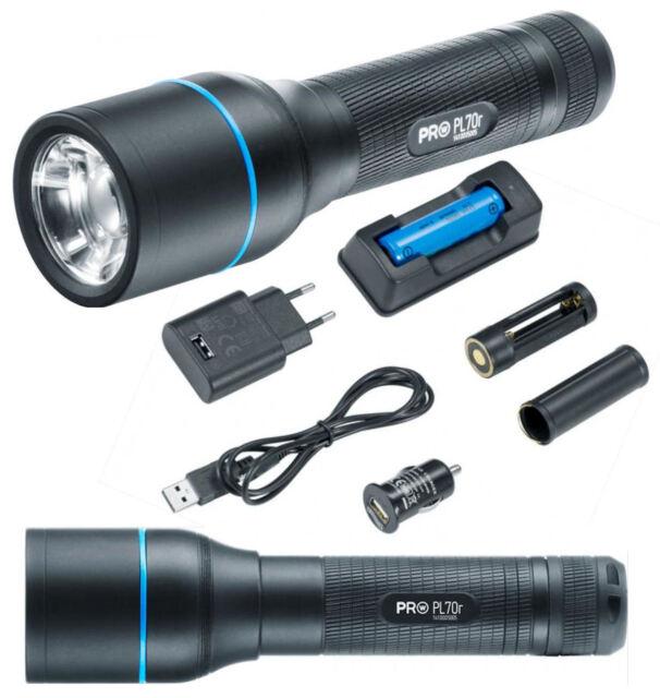 LED Taschenlampe Neu /& OVP 1 Stück WALTHER PRO PL80