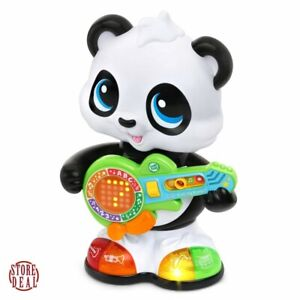 Panda-Toy-LeapFrog-Learn-And-Groove-Dancing-With-Guitar-And-Light-Up-Shoes-New