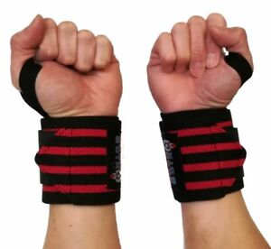 Weight Lifting Wrist Wraps Gym Training Support Wrap Grip Crossfit Straps New Fitness, Running & Yoga Equipment
