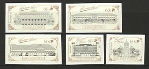 SINGAPORE-2019-HERITAGE-HOTELS-SELF-ADHESIVE-COMP-SET-OF-5-STAMPS-IN-MINT-MNH