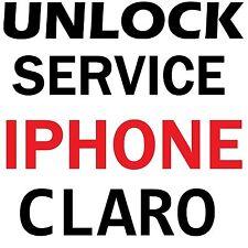 CLARO PUERTO RICO CHILE COLOMBIA IPHONE UNLOCK SERVICE 7 7+ SE 6S+ 6S 6 6+ 5S 5C