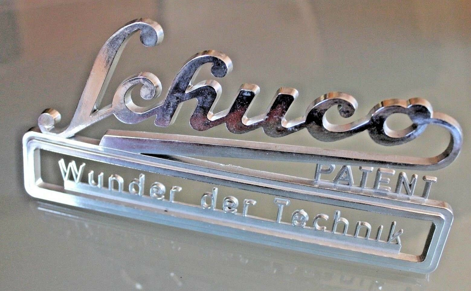 Giocattolo Antico Schuco Marca Logo Plastica Originale