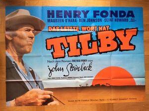 Letzte-Wort-hat-Tilby-A0-Kinoplakat-039-75-Henry-Fonda-Maureen-O-039-Hara