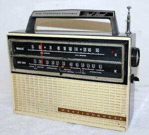 Details about Westinghouse H-712P9 AM (KC) Broadcast MC Shortwave Nine  Transistor Radio