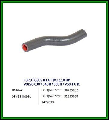 Oil Return Turbo Hose Pipe ford FOCUS MK2 & C-MAX 1.6 TDCI 110hp 3M5Q6K677AD