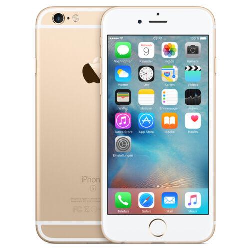 1 von 1 - APPLE IPHONE 6S 64GB - SPACEGRAU, GOLD, SILBER, ROSÈ GOLD - SMARTPHONE - HÄNDLER