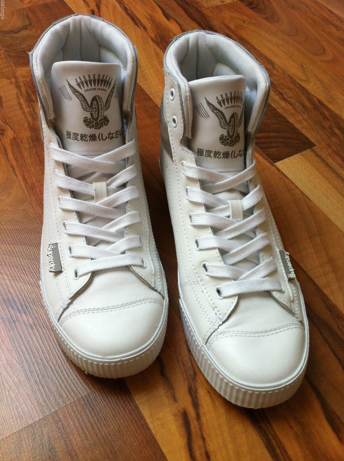 SUPERDRY Größe  Sneakers / Boot  Leder  Größe: Größe SUPERDRY 9/EU 42  Ungetragen! be3d87
