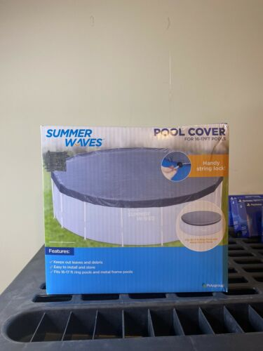 Summer Waves 16-17 ft Above Ground Swimming Pool cover