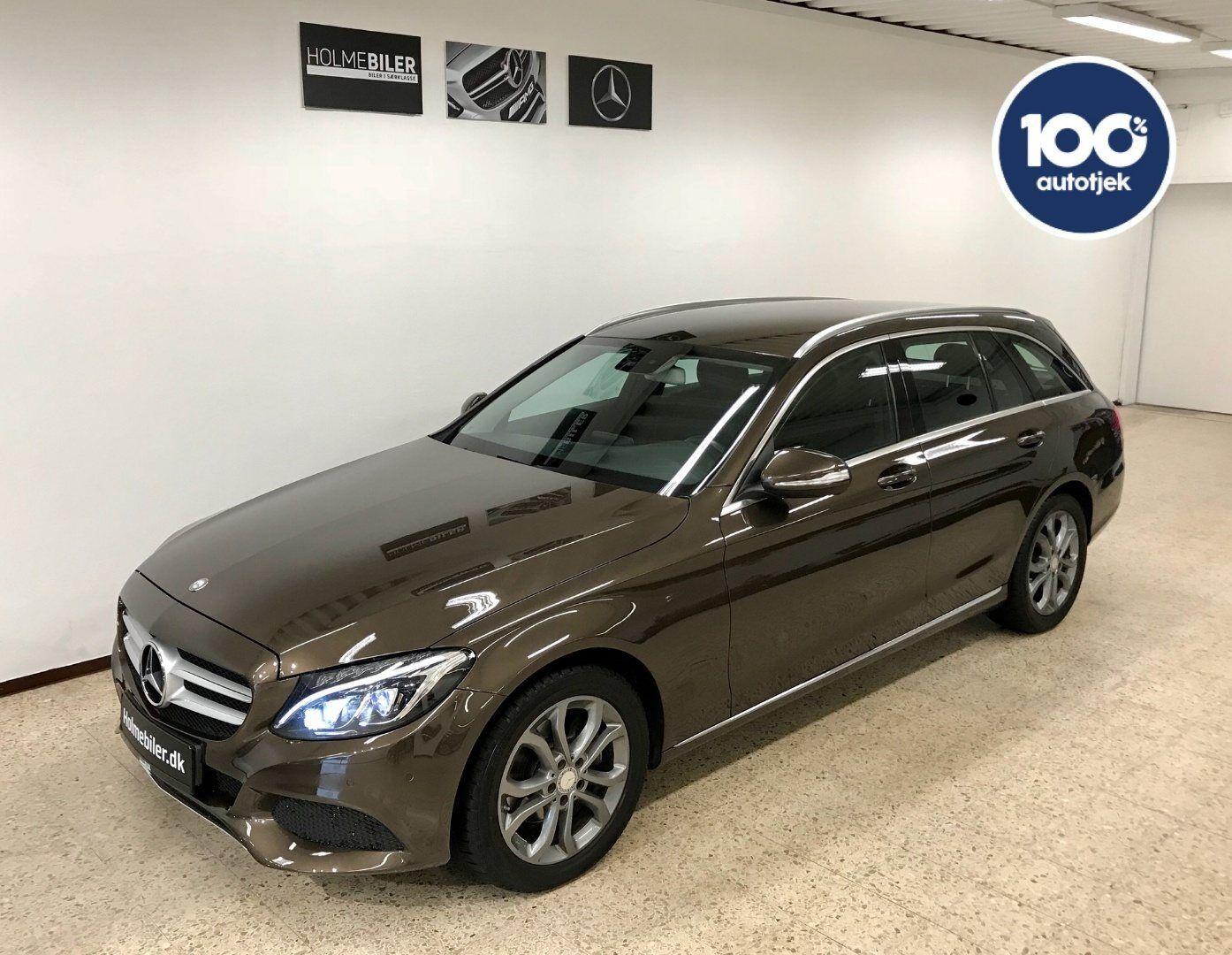 Mercedes C220 d 2,2 stc. 5d - 224.900 kr.