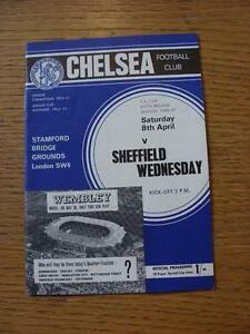 08041967 Chelsea v Sheffield Wednesday FA Cup   Any faults with this item w - <span itemprop=availableAtOrFrom>Birmingham, United Kingdom</span> - Returns accepted within 30 days after the item is delivered, if goods not as described. Buyer assumes responibilty for return proof of postage and costs. Most purchases from business s - Birmingham, United Kingdom