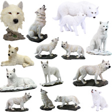 GHOST WOLF 19.5cm Veronese Ornament Figurine Snow Wolves Nemesis Now Free P+P