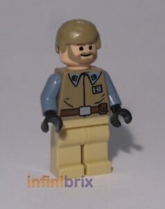 Lego-General-Crix-Parker-Minifigur-aus-der-EXCLUSIVE-SET-STAR-WARS-NEU-sw250a