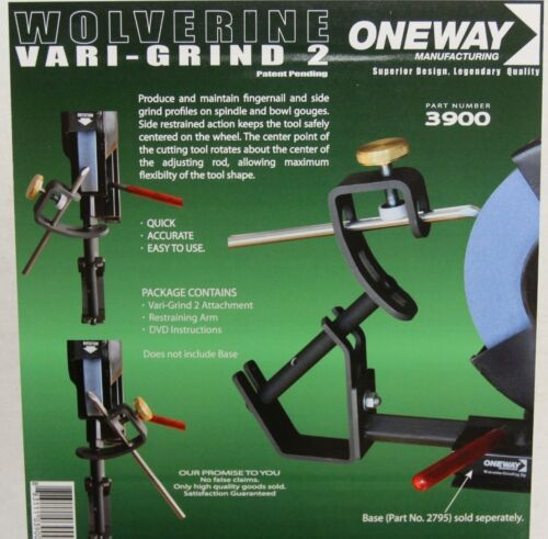 OW-3900 Oneway Wolverine Vari-Grind 2 does not include base
