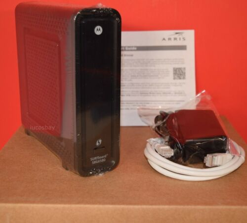 Motorola SBG6580 DOCSIS 3.0 Wireless Cable Modem Router COMCAST SEALED TWC