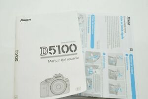 Spanish-Nikon-D5100-User-039-s-Manual-Quick-Start-Guide