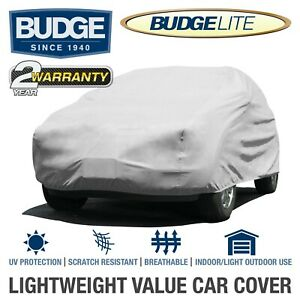 """Budge Lite SUV Cover Fits Full Size SUVs up to 17'5"""" Long UV Protect  Breathable"""