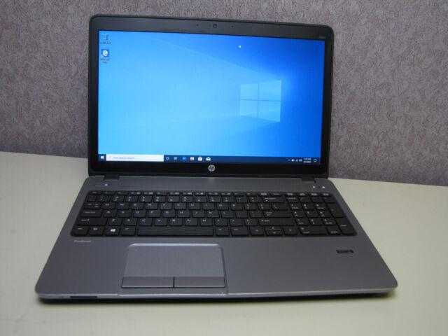 HP ProBook 450 G1 Intel Core i5-4200M @2.5GHz 8GB RAM 256GB SSD Windows 10 Pro