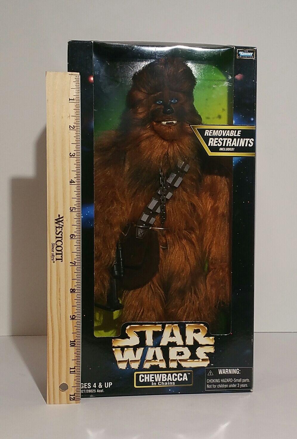 Star - wars - chewbacca aktion collection 12  bis 6 abbildung 1998 mib