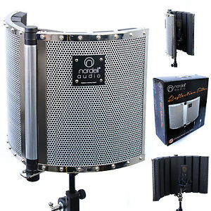 Nordell-039-Portable-Recording-Vocal-Booth-Microphone-Reflection-Filter-Screen