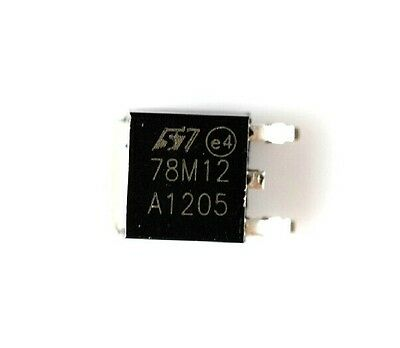 100PCS 78M12 IC REG LDO 12V ST TO-252 NEW DATE CODE :12+ GOOD QUALITY