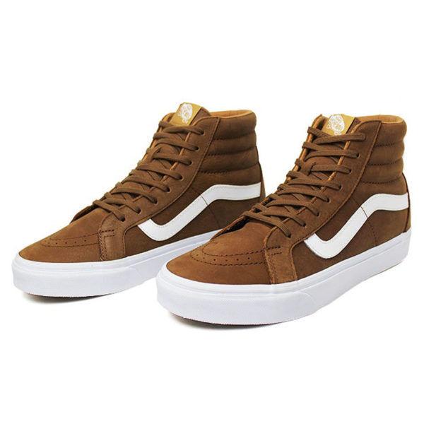 9e6f5e8872d85a VANS Sk8 Hi Reissue Premium Leather Dachshund Men s Skate Shoes Size 7 for sale  online