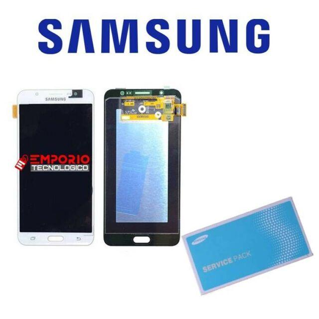 LCD DISPLAY ORIGINALE SAMSUNG J710 BIANCO TouchScreen Completo GH97-18931C J7 16