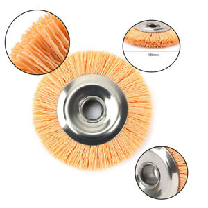 "8/"" 3P Nylon Fiber Grinding Wheel Pad Polising Disc Abrasive Tool 320# 18mm Bore"