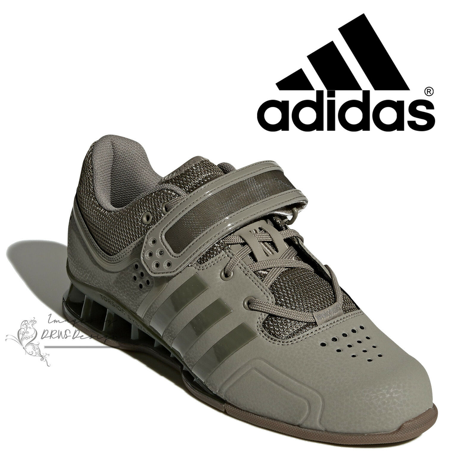 adidas adiPower Men's Pro Weightlifting Shoes Cargo Gym Trainers DA9874