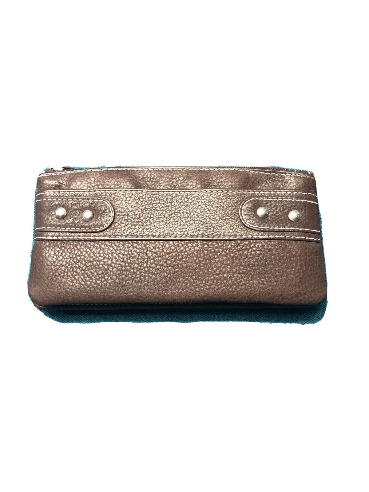 NWT, Paul & Taylor Brown Leather Women's Snap Wallet