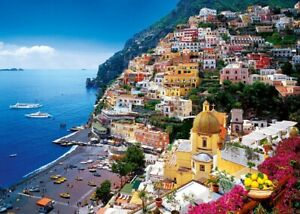 500-Pezzi-Puzzle-Positano-Costiera-Amalfitana-Italy-Sigillato-Nuovo-di-Zecca-amp