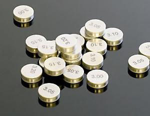 HONDA 7.5mm VALVE SHIMS SHIM SIZES 1.35 - 3.00 CB CBF HORNET CBR RR VFR GL ST