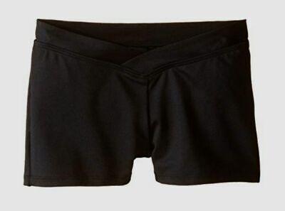 Bloch Kids Girls V-Waist Shorts Little Kids//Big Kids